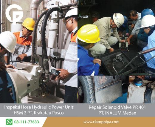 service mesin industri