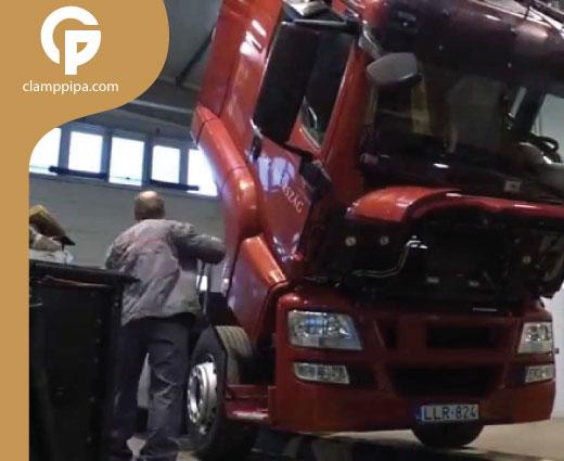 biaya service truk hino